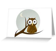 Bird Night Greeting Card