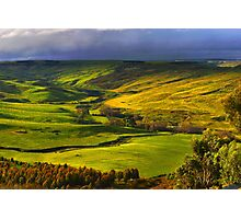 Rowsley Valley Photographic Print