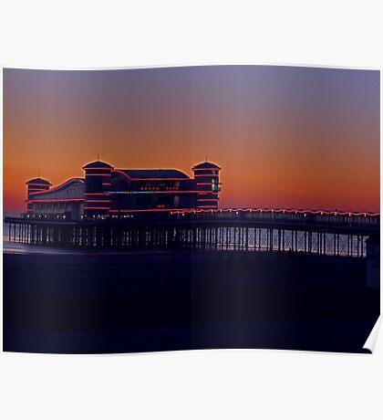 The Grand Pier - Weston-super-Mare Poster