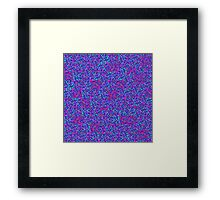 Pixel Texture 1 Framed Print