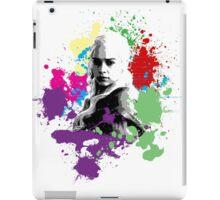 Khaleesi Rainbow Splatter iPad Case/Skin