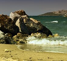 windy day in turgutreis by gzmguvenc89