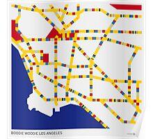BOOGIE WOOGIE LOS ANGELES Poster