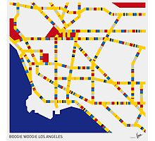 BOOGIE WOOGIE LOS ANGELES Photographic Print