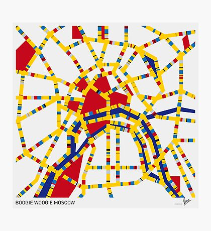 BOOGIE WOOGIE MOSCOW Photographic Print