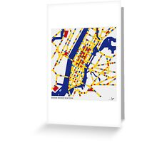 BOOGIE WOOGIE NEW YORK Greeting Card