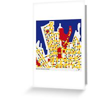 BOOGIE WOOGIE SYDNEY Greeting Card