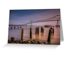 Good Morning, Astoria! Greeting Card