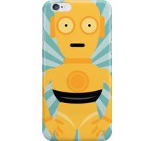 C3PO Star Wars Teal Art iPhone Case/Skin