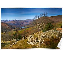 Across to Rydal Water Poster