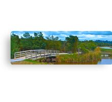Lilydale Lake Pano Vic Australia Canvas Print