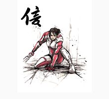 Ashley from Mass Effect 1 Sumi and Watercolor style Japanese calligraphy Faith Unisex T-Shirt