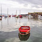 All Calm At The Harbour by Susie Peek