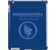 "Paragon - ""There are no exceptions."" iPad Case/Skin"