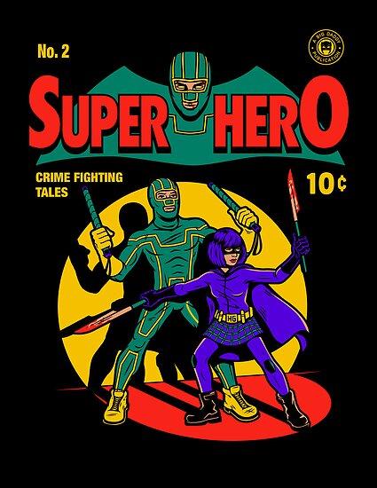Superhero Comic by harebrained