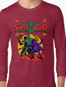 Superhero Comic Long Sleeve T-Shirt