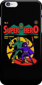 Superhero Comic by harebrained