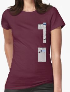Windows To The Soul Womens Fitted T-Shirt
