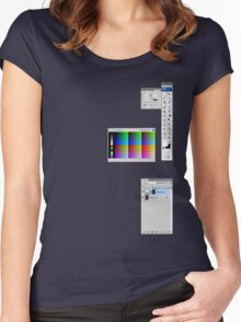 Windows To The Soul (Swatches) Women's Fitted Scoop T-Shirt