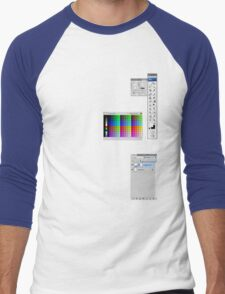 Windows To The Soul (Swatches) Men's Baseball ¾ T-Shirt
