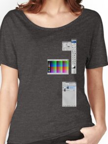 Windows To The Soul (Swatches) Women's Relaxed Fit T-Shirt