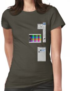 Windows To The Soul (Swatches) Womens Fitted T-Shirt