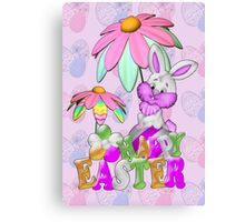 Happy Easter Bunny Canvas Print