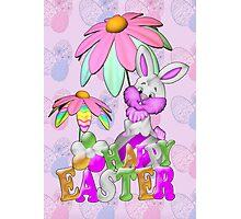 Happy Easter Bunny Photographic Print