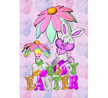 Happy Easter Bunny Photographic Print