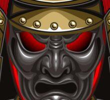 Colorful Samurai mask Sticker