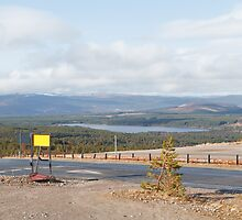 The view from the Cairngorm Mountain range by Keith Larby
