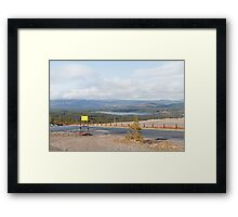 The view from the Cairngorm Mountain range Framed Print