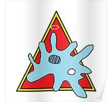 """Mother Protozoa"" by Richard F. Yates Poster"