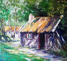 Irish countryside by Roman Burgan