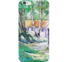 Irish countryside iPhone Case/Skin
