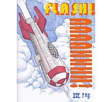 Flash Photographic Print