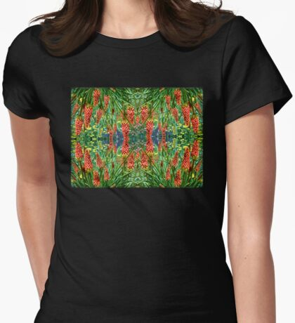 Torch Lillies Womens Fitted T-Shirt