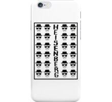 Heisenburg Multiple Faces iPhone Case/Skin