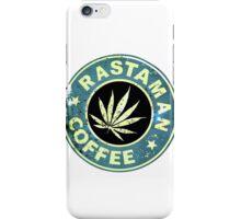 RASTAMAN COFFEE VINTAGE  iPhone Case/Skin