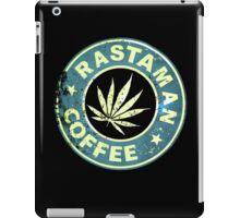 RASTAMAN COFFEE VINTAGE  iPad Case/Skin