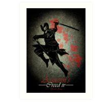 Assassins Creed IV Fan Poster Art Print