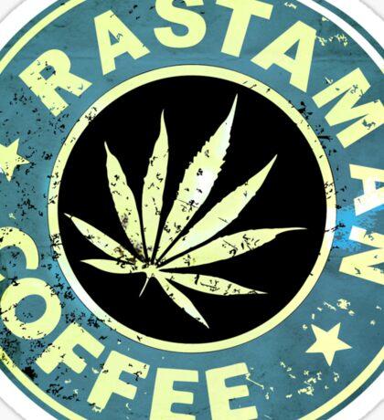 RASTAMAN COFFEE VINTAGE  Sticker