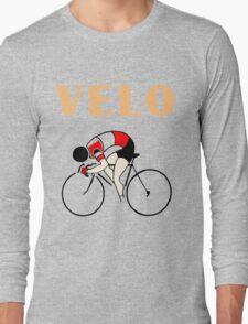 Retro art deco design cycling velo sprint T-Shirt