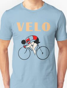 Retro art deco design cycling velo sprint Unisex T-Shirt