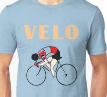 Retro art deco design cycling velo sprint Unisex T-Shirt