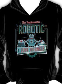 Robotic Love Triangle T-Shirt