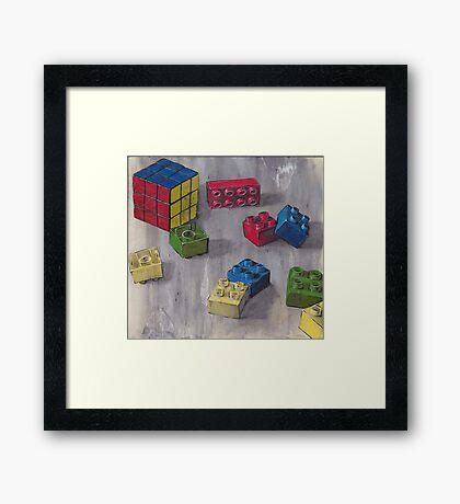 Lego my Ernő Framed Print