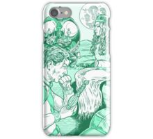 Spaceman and Angel iPhone Case/Skin