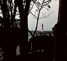 lighthouse in turgutreis by gzmguvenc89