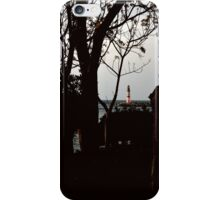 lighthouse in turgutreis iPhone Case/Skin